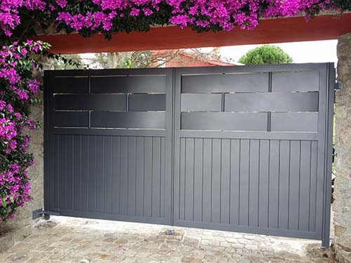 Puertas automaticas portagal - Puertas abatibles garaje ...