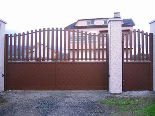 Puertas automaticas abatibles o batientes portagal for Puertas para fincas
