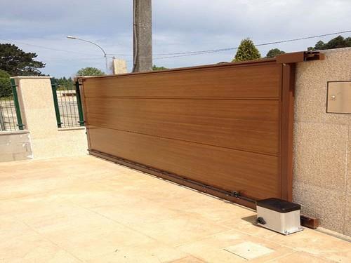 Puertas automaticas correderas portagal - Paneles imitacion madera ...