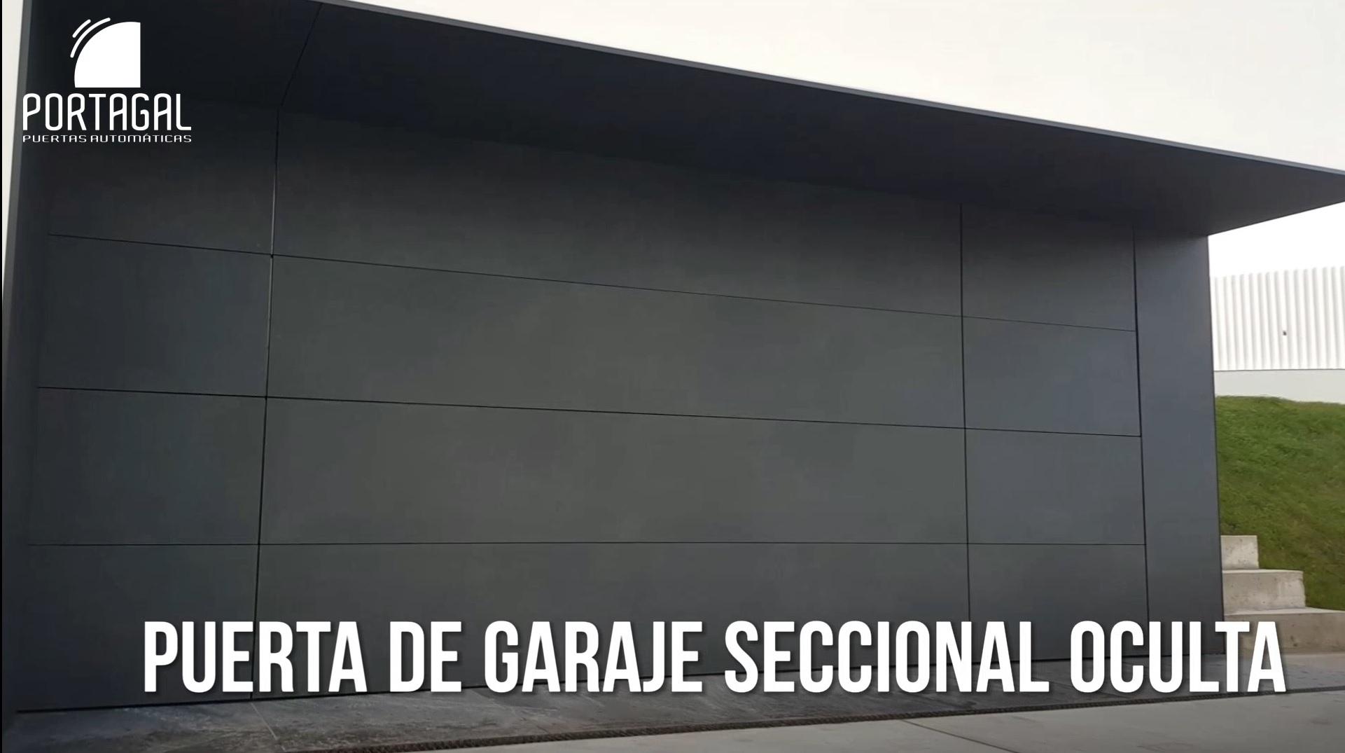 PUERTA CORREDERA, PEATONAL, CIERRE Y PUERTA DE GARAJE OCULTA