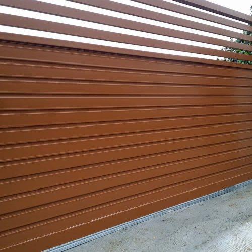 puerta-corredera-acero-galvanizado-marron